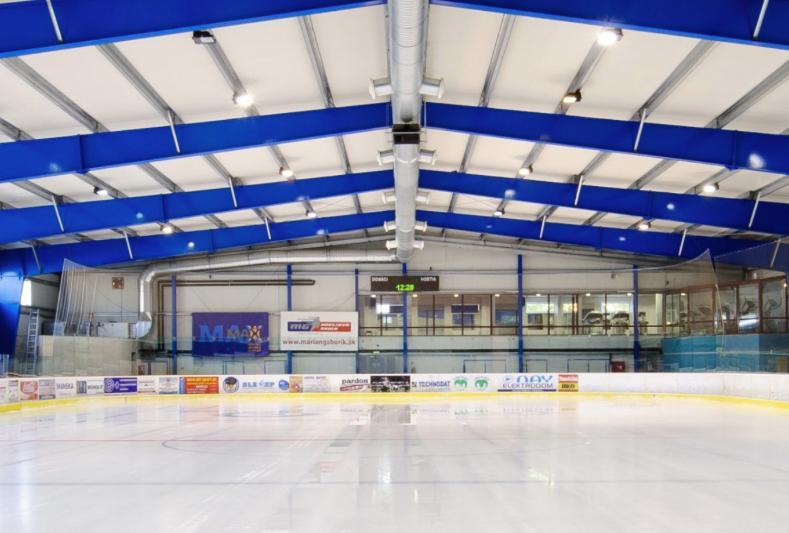 Aréna Mariána Gáboríka - hokejová škola Trenčín, 1
