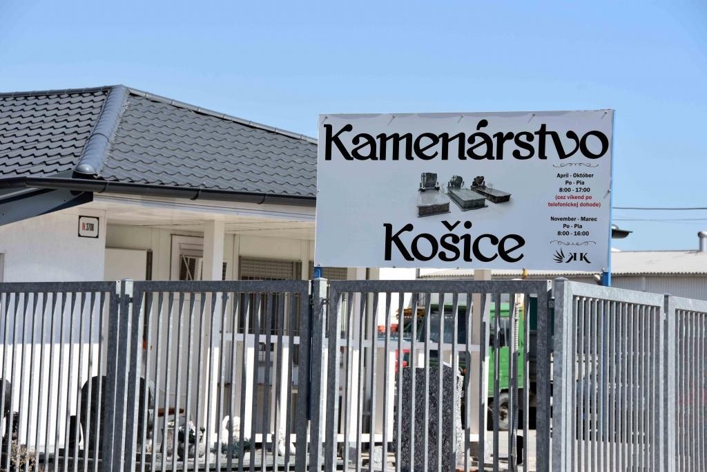 Kamenárstvo TMM Trade Košice, 1
