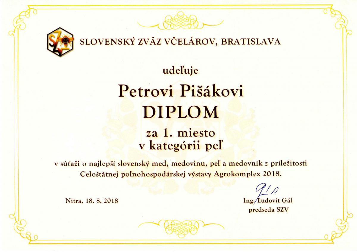 Slovensky-med.sk výroba a predaj medu Veľký Krtíš, 1