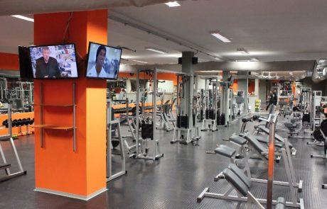 Fitnescentrum Megagym Úsvit, 1
