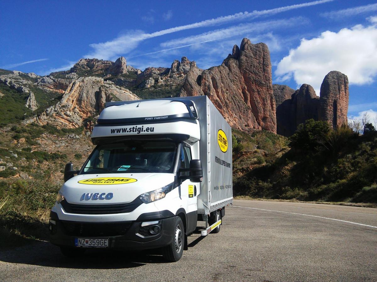 STIGI-TRANS- expresná preprava tovaru, 1