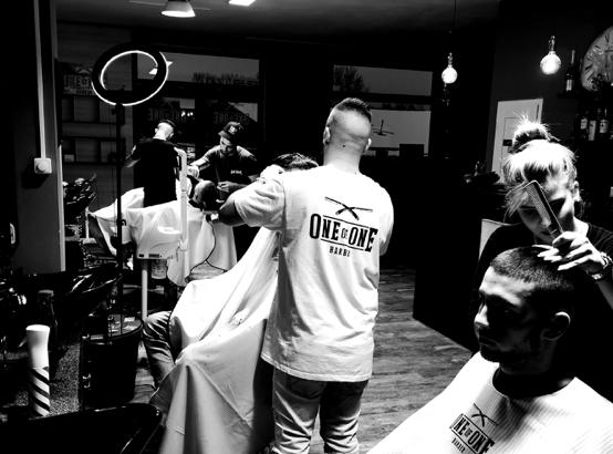 ONE OF ONE BARBER, 1