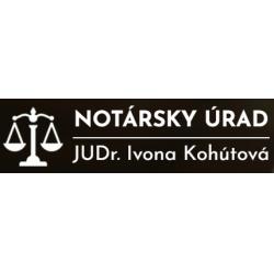 Notársky úrad - JUDr. Ivona Kohútová Bratislava - Ružinov