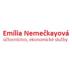 Logo Emília Nemečkayová, účtovníctvo