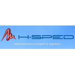 Logo MH-Sped - kamiónová doprava, logistika