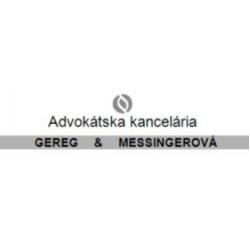 Advokátska kancelária GEREG-MESSINGEROVÁ, s.r.o.