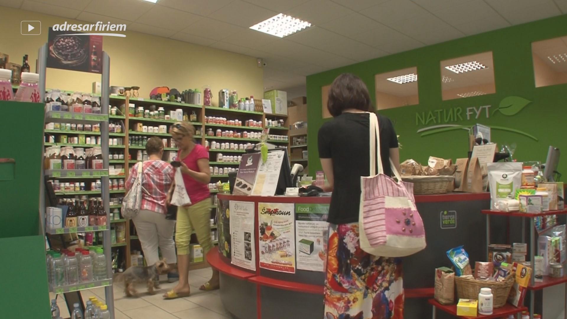 Video NATURFYT - zdravá výživa, bio potraviny Bratislava