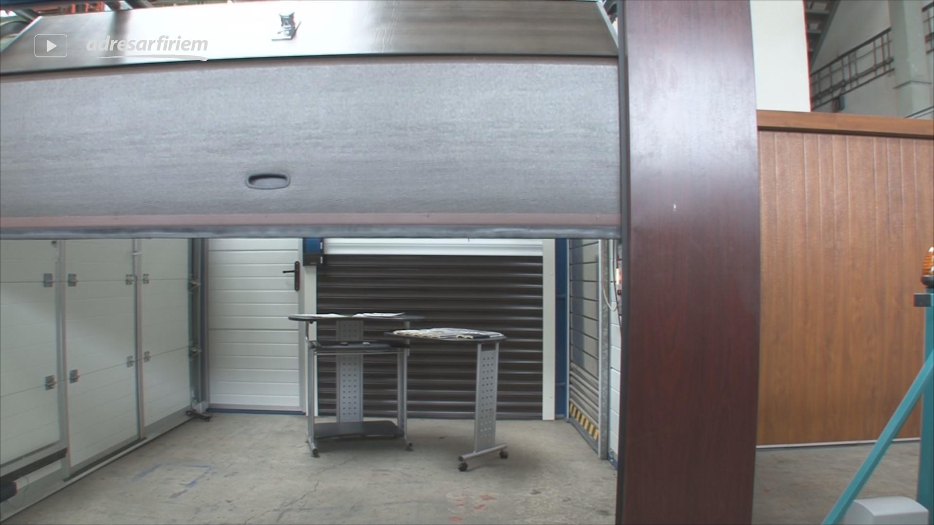 Video ELBA - garážové brány Kremnica