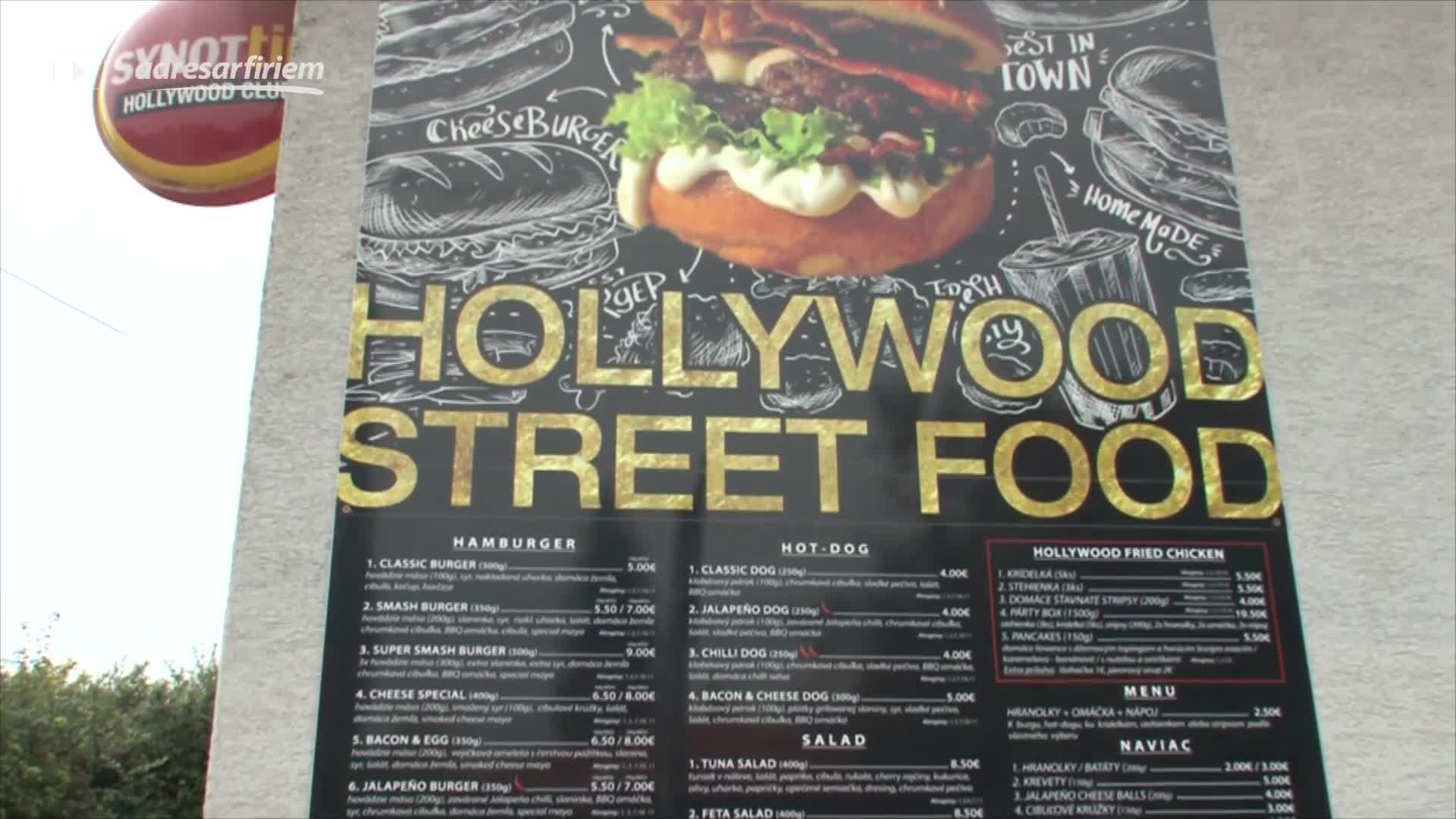 Video Hollywood Street Food Nitra
