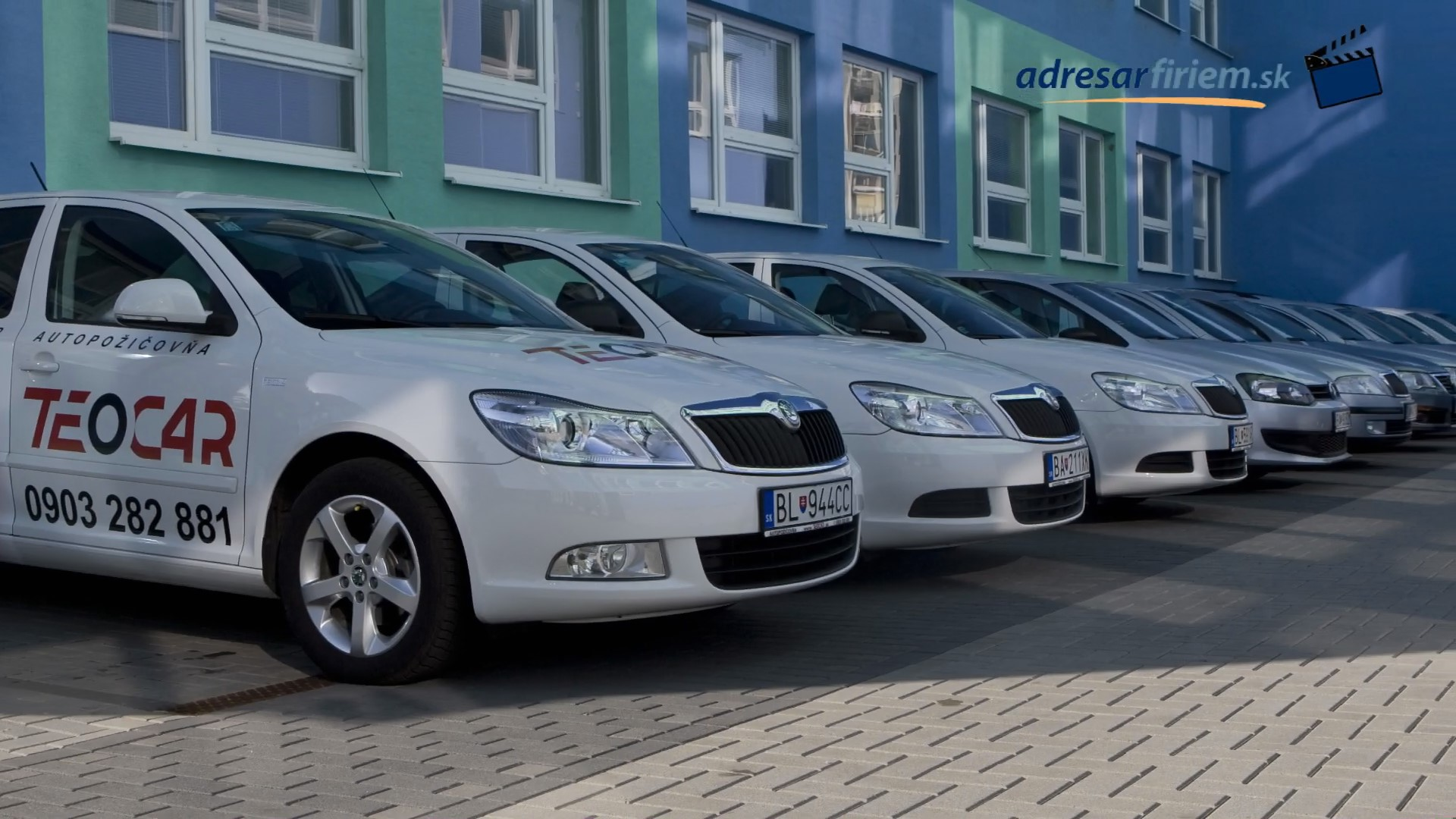Video Autopožičovňa TEOCAR Bratislava