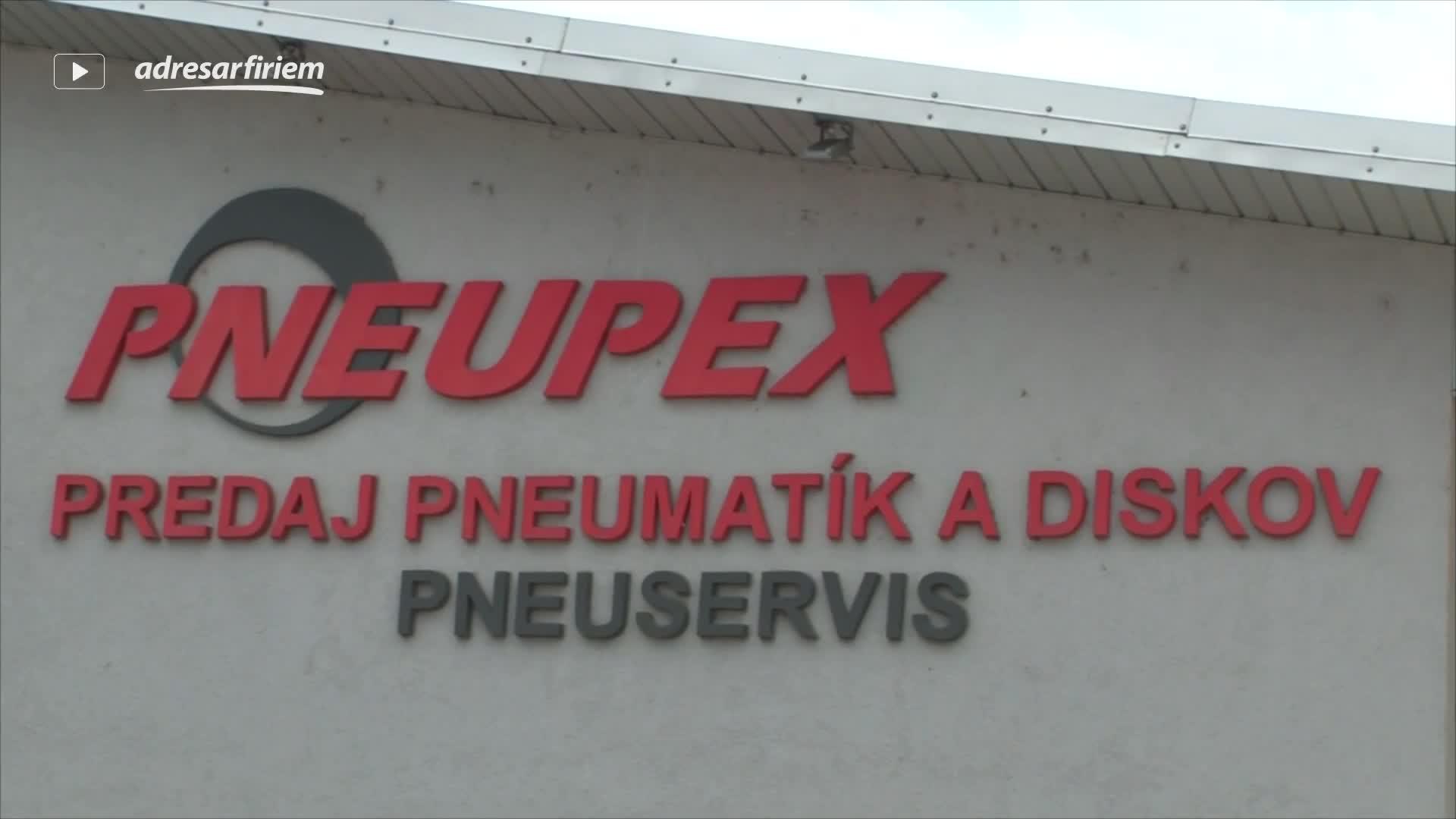 Video PNEUPEX, spol. s r.o. Svidník
