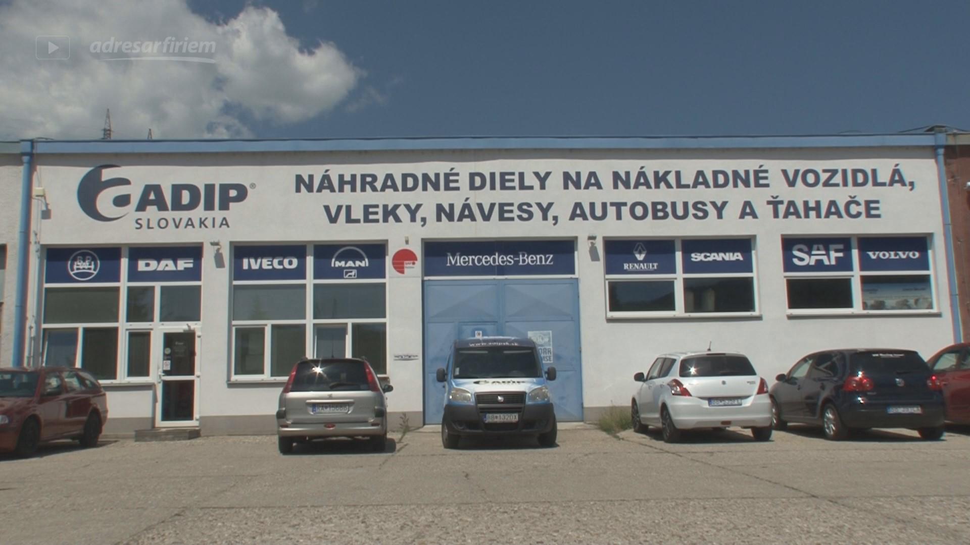 Video ADIP SLOVAKIA, spol. s r.o. Banská Bystrica