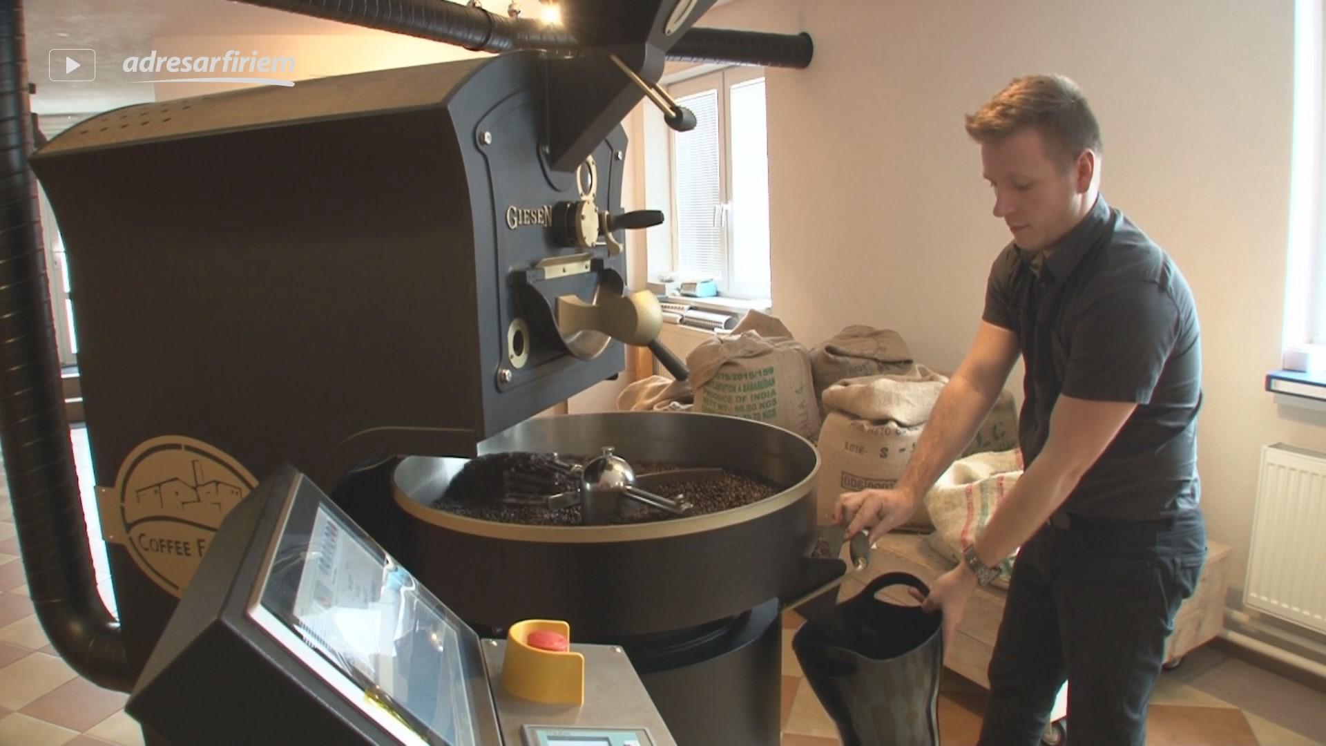 Video COFFEE FACTORY pražiareň kávy Banská Bystrica