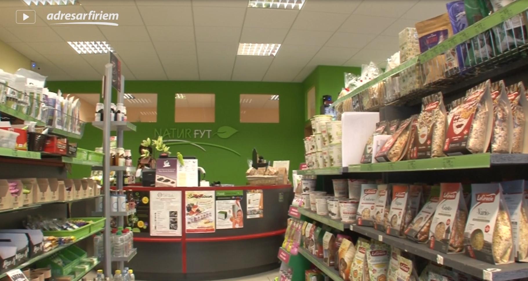 Video NaturFyt - výživové doplnky Bratislava