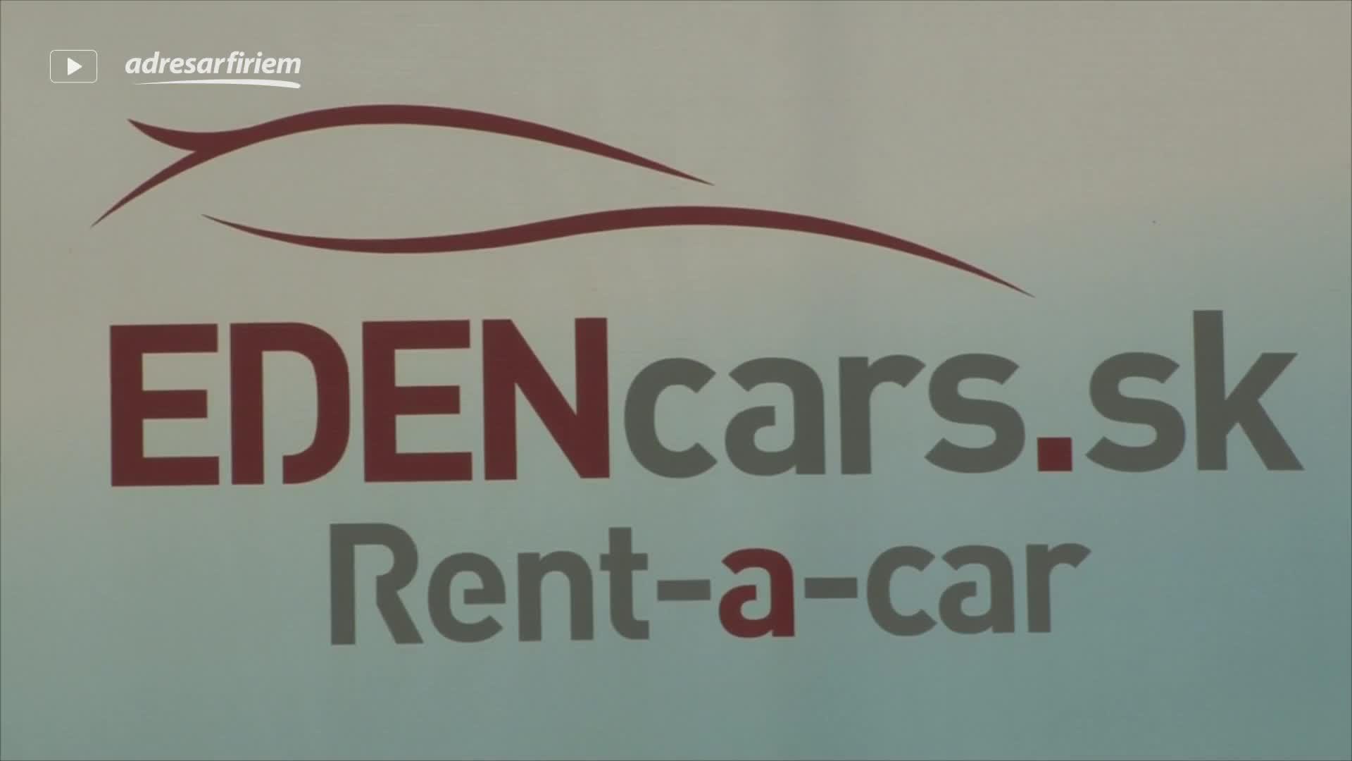 Video EDENcars, s. r. o. Bratislava - mestská časť Ružinov