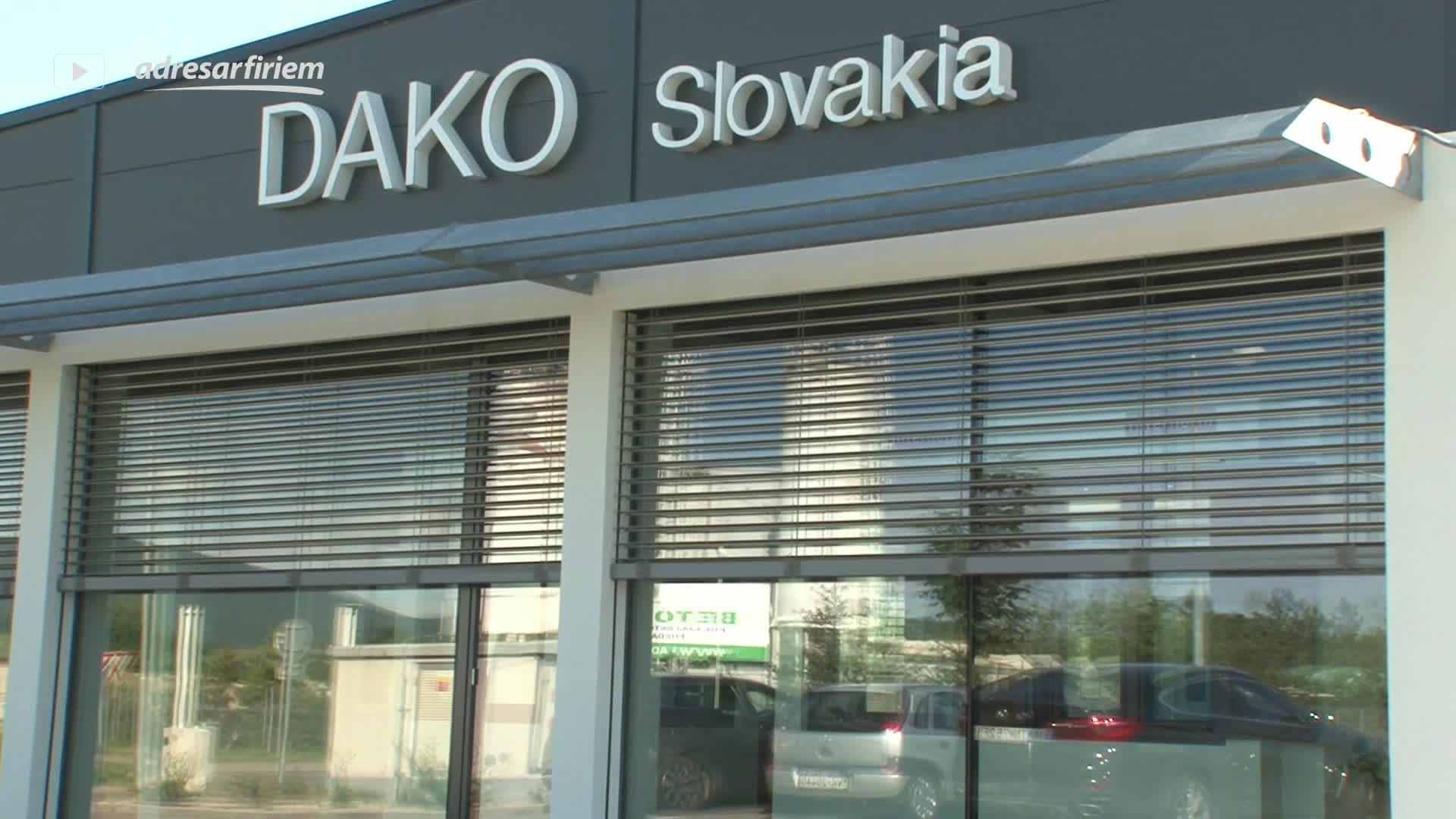 Video DAKO Slovakia s. r. o. Trenčín