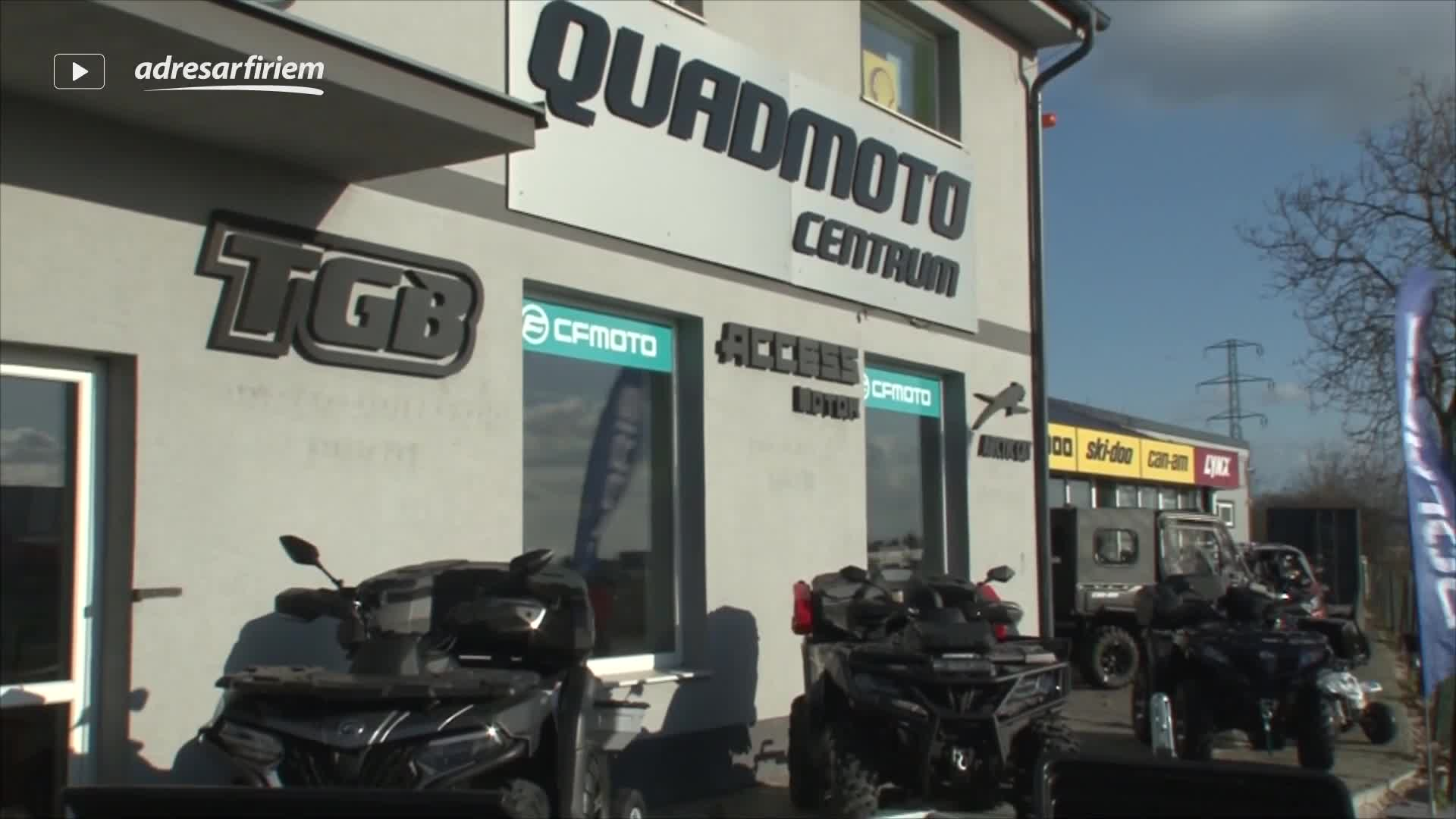 Video QUADMOTO s.r.o. Vrbové