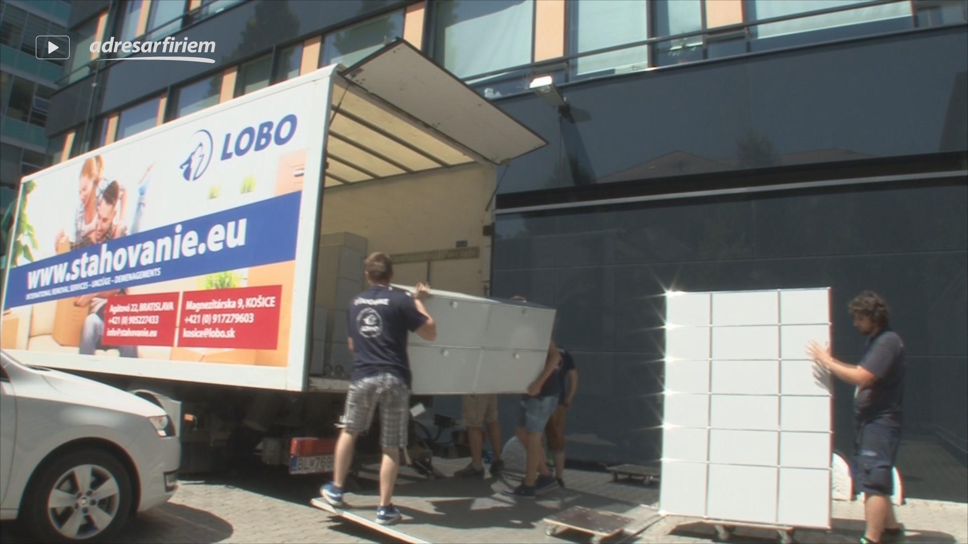 Video LOBO GROUP - sťahovanie Bratislava