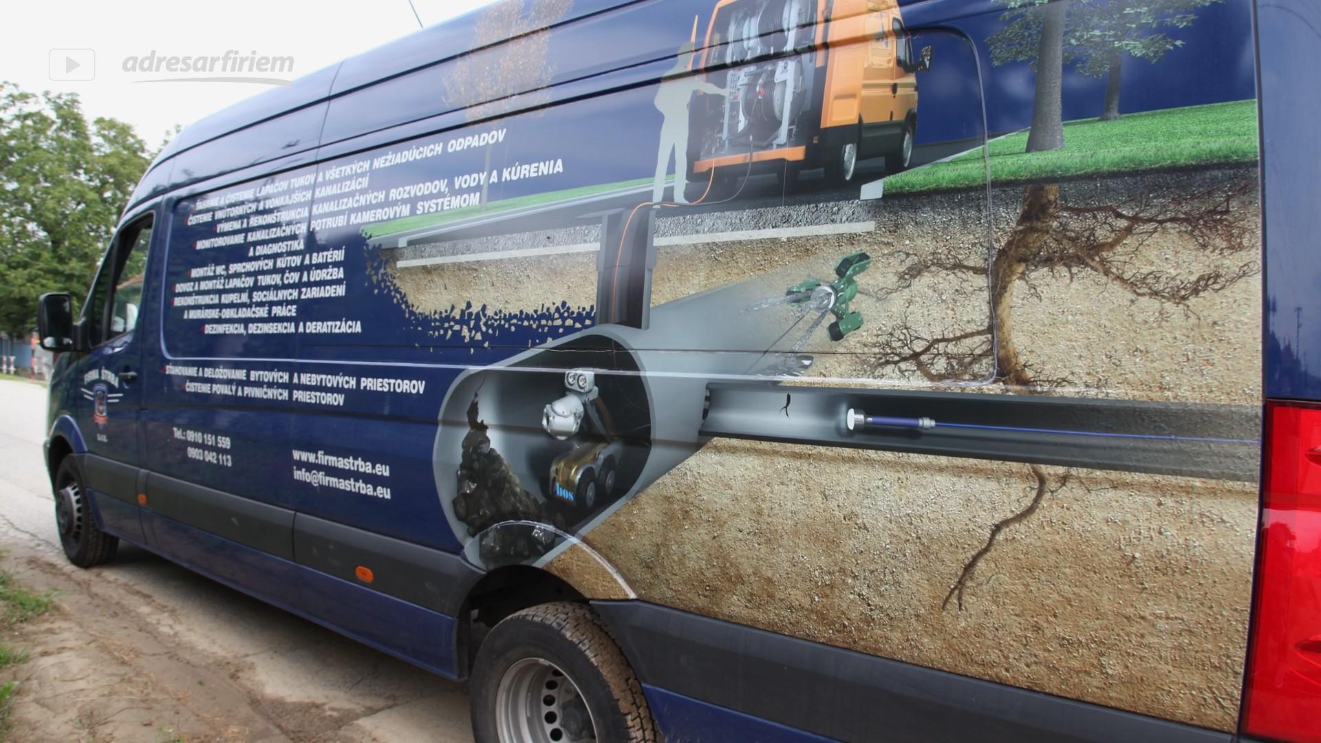 Video Firmaštrba - čistenie kanalizácií, deratizácia Veľké Lovce