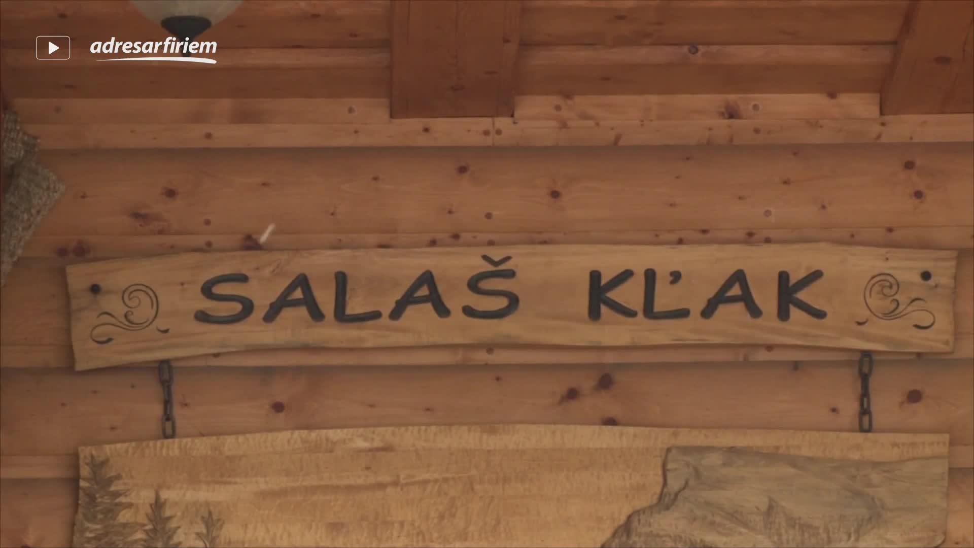 Video Reštaurácia Salaš KĽAK Kľačno