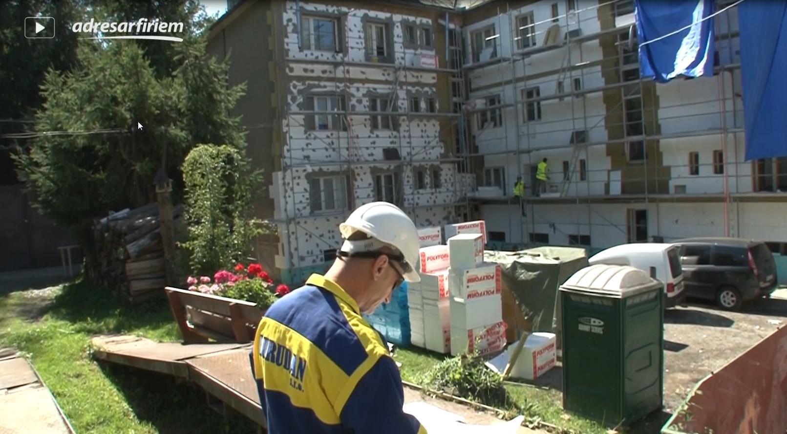 Video Lurudan, stavebná činnosť Pohronská Polhora