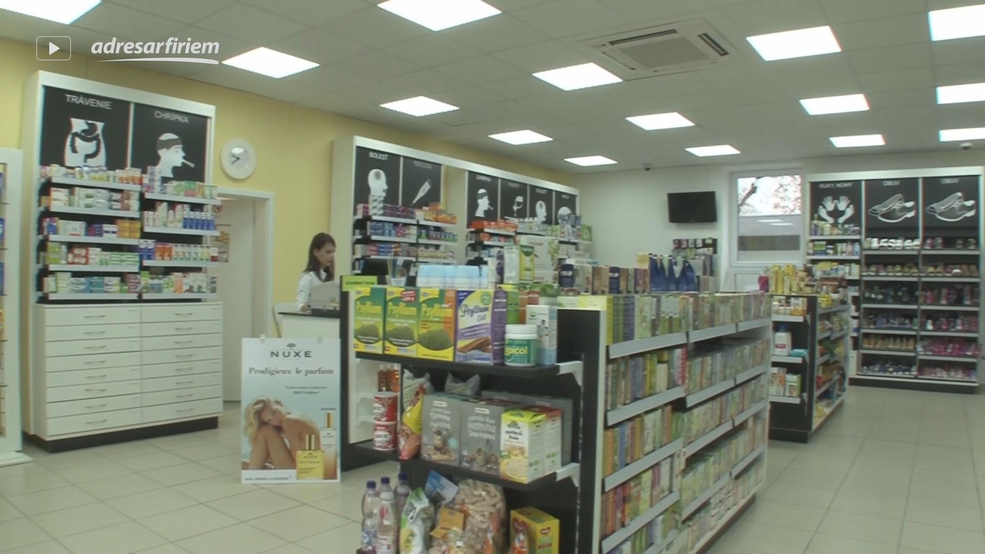 Video Lekáreň Polygónia Nitra