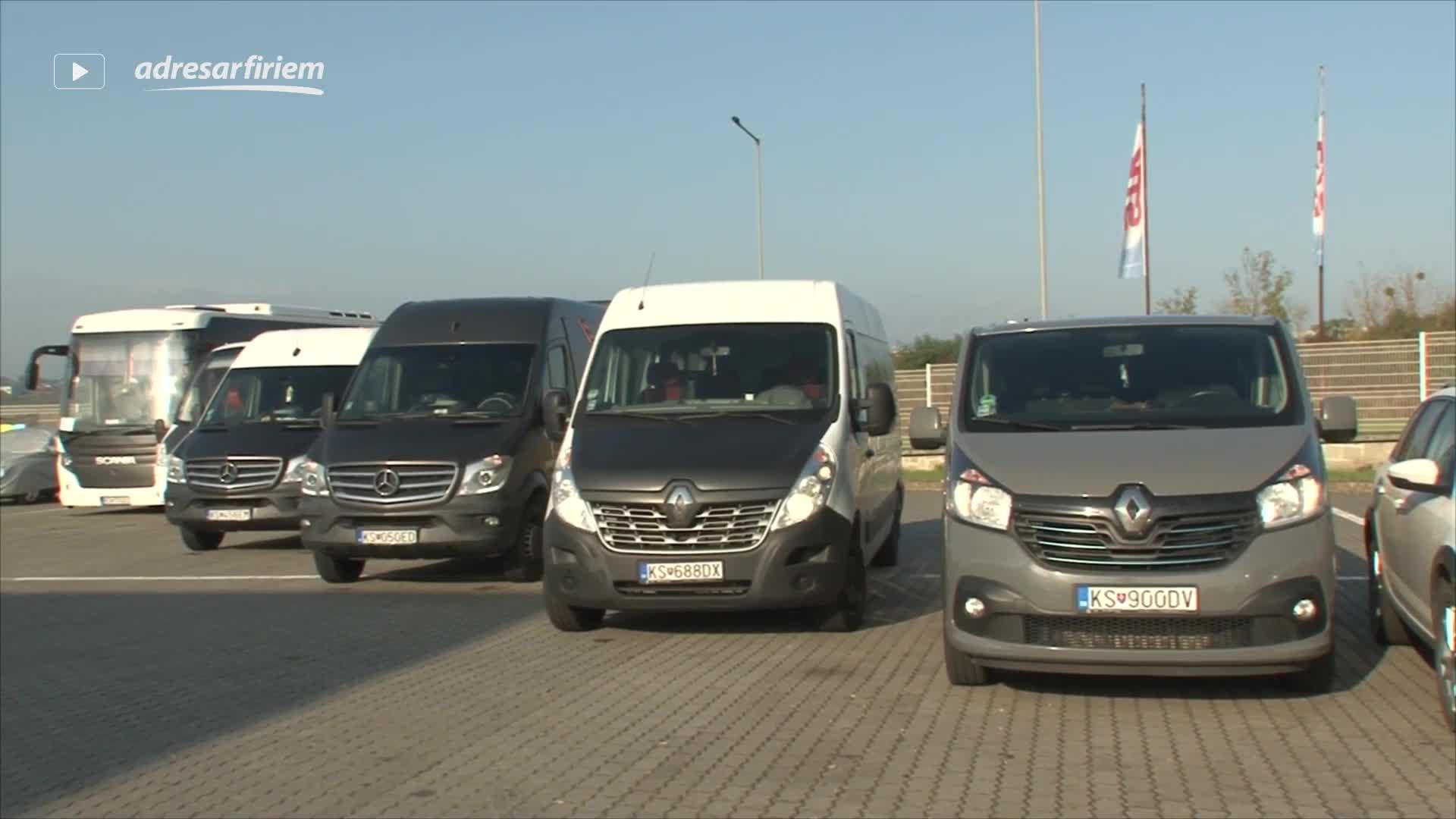 Video Minibuseuropa s.r.o. - autobusová doprava Družstevná pri Hornáde