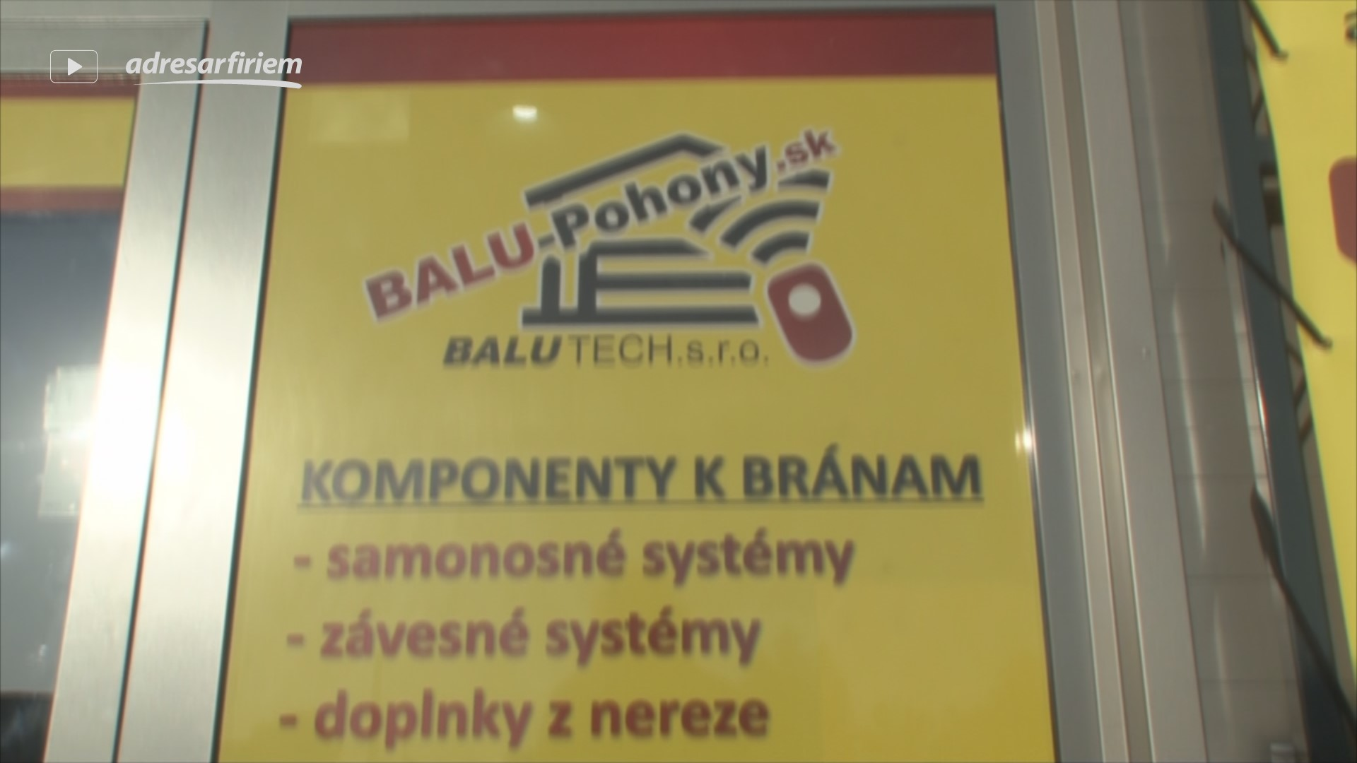 Video BALU TECH. s.r.o. Trnava