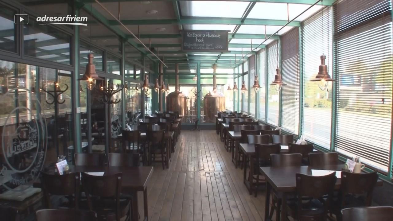 Video Reštaurácia PATRÓNSKY PIVOVAR Bratislava - Staré Mesto